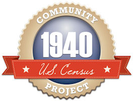 1940 Census Indexing Projeoct logo